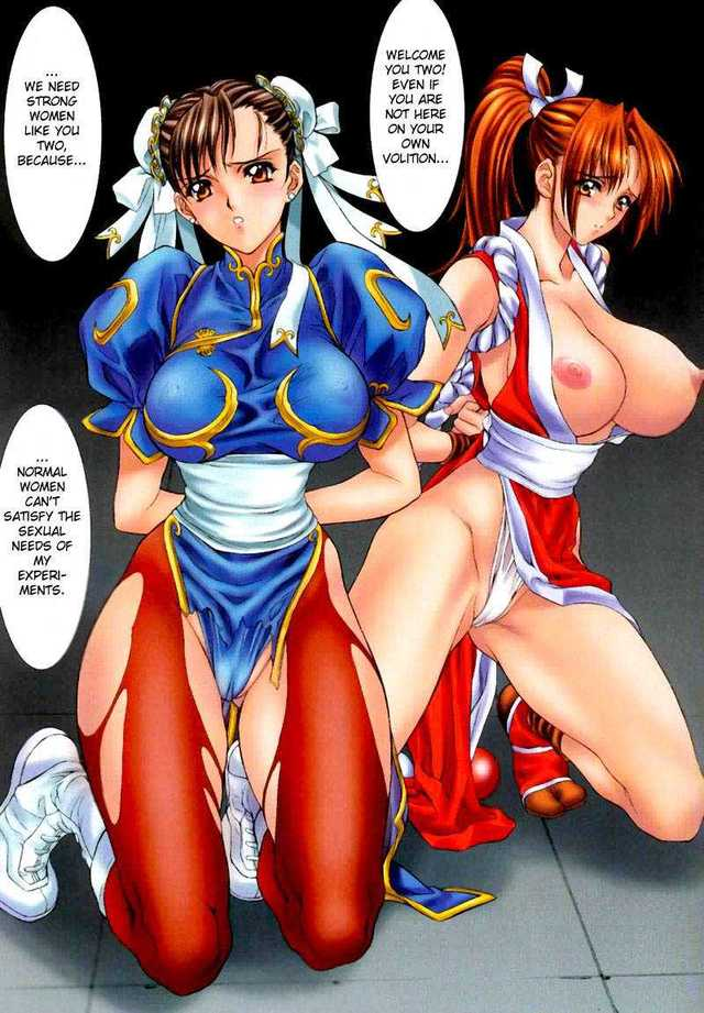 street fighter 4 hentai english imglink fighter king mai street chun fighters demongeot nas