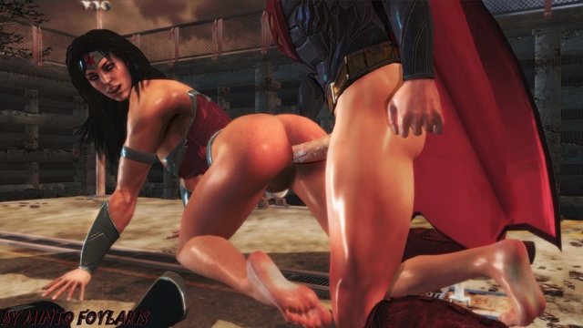 wonder woman hentai porn woman naked nude superman catwoman wonder gods mod mintofoularis among injustice