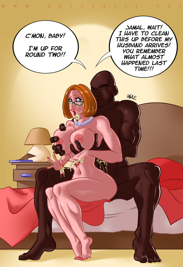 interracial hentai comic time some ago someone asked