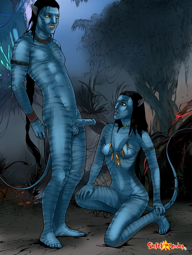 You tell Avatar movie naked girl fill