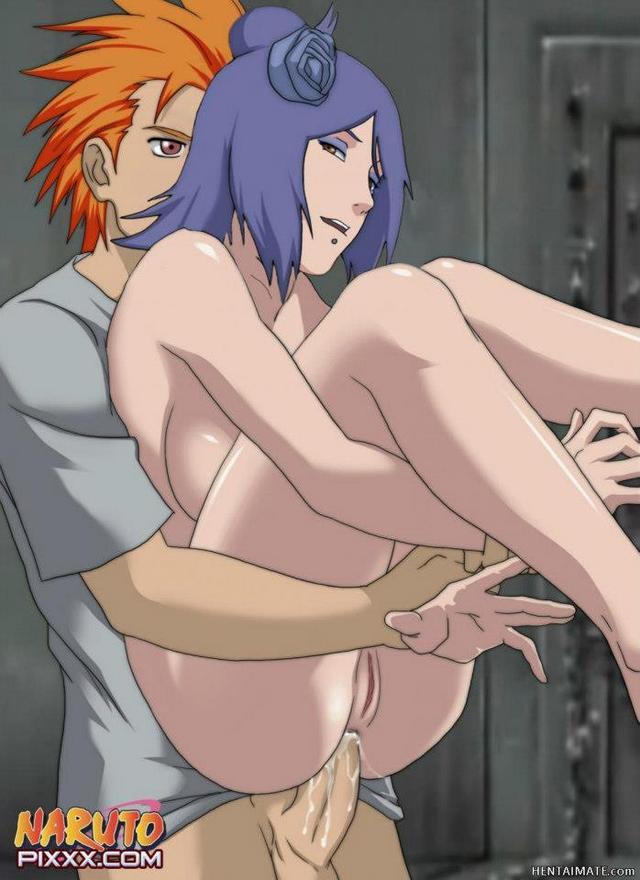 Naruto Konan Lesbian Hentai