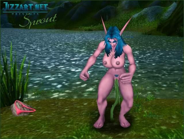 Female blood elf porn second