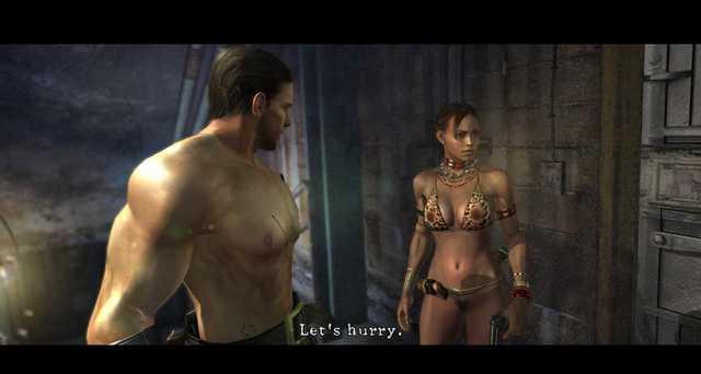 Resident Evil 5 Sheva Nude