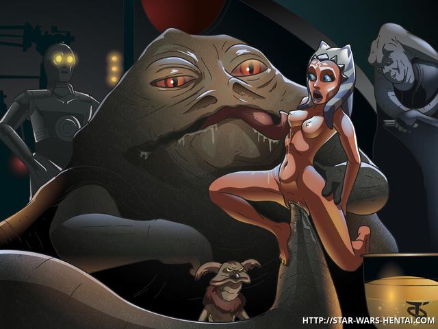 Смотреть порно мультик звездные войны