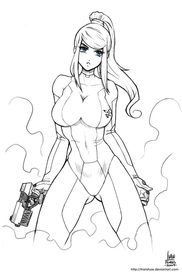 zero suit samus hentai pics games pre morelikethis traditional fanart drawings