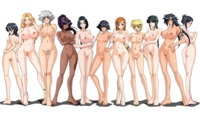 cleavage hentai yande bleach breast hold cleavage feet ise nanao kagami kotetsu isane megane naked nipples photoshop pubic hair pussy sui feng uncensored unohana retsu show