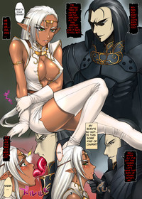 dark hentai anime cartoon porn manga hentai dark elf pirotess photo