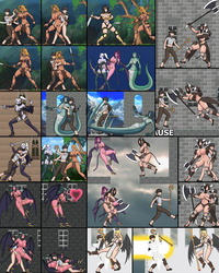 dragon pink hentai fantasion hentai game screenshots sidescrolling games