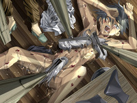 enzai hentai dead blood crying enzai grey hair water yaoi