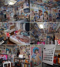guy double target hentai typical otaku room page