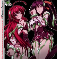 high school dxd hentai rias bakeno slimed ero render highschool dxdrias gremoryhimejima