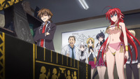 high school dxd ova hentai rias dancing outfit category anime catagory completed series