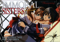 immoral sisters 2 hentai media original immoral sisters blossoming couple ovas hentai