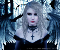 angel of darkness hentai angel darkness sannie swr morelikethis digitalart photomanip dark