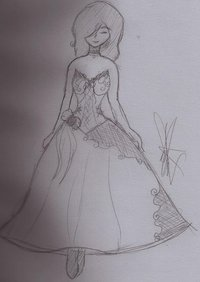 karen hentai pre corset dress design karen windwaker wbh morelikethis traditional