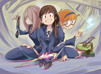 magical witch academy hentai little witch academia nus episode short peace promo psycho pass