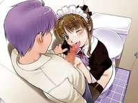 maid in heaven hentai hentaiblog plugins matic blush brown hair censored cum facial fellatio game green eyes handjob horizontal kiriyama taichi maid heaven supers nagisa oral penis purple sitt