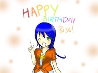 refrain blue hentai gift happy belated birthday blue rose aka risa gracetan mizutone morelikethis artists