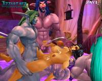 sex craft hentai screenshots orc fucks draenei world warcraft porn comic