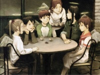 the story of little monica hentai haibane renmei girls old home hikari kana kuu nemu reki rakka christian anime any out