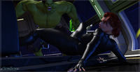 widow hentai avengers hulkblackwidow galleries artist gallery mongobongos avenger set