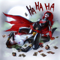black widow hentai thriller pictures user batwoman black widow jokerized page all