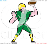 cartoon free hentai porn clipart length cartoon male caucasian football player quarterback ball royalty free vector illustration porn gay videos