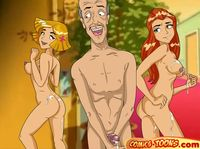 anime artist cartoon hentai manga porn sex totally spies cartoon fan art