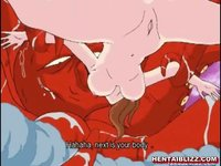 hard hentai porn videos hentai girl caught drilled hard octopus tentacles