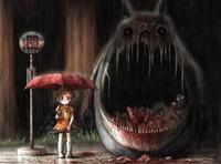 anime hentay manga porn media original monster totoro manga anime hentai creepy parody wallpaper neighbor interesting