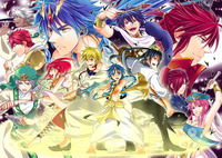 anime de manga porn y magi labyrinth magic openings