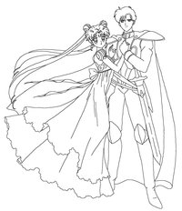 manga porn sailor moon serenity endymion coloring page sailortwilight bzgbj manga colouring sailor moon soapboxinggeek