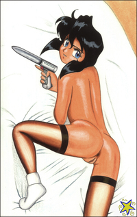 gunsmith cats hentai cdefcf dadc gunsmith cats rally vincent james bender comment