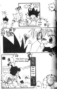 hunter x hunter hentai imglink doujin white alpha story hunterxhunter english