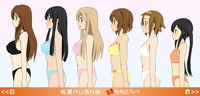 k-on! hentai albums jemlee anime chichi kurabe breast compariso entry