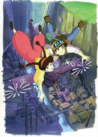 laputa: castle in the sky hentai laputa castle sky miyazaki hayao sheeta pazu evolution anime fan