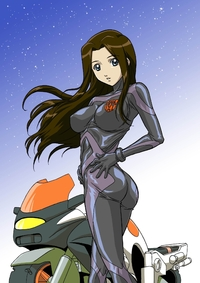 mospeada hentai arcee ass blue eyes bodysuit ratio transformers