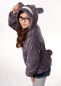 my neighbor totoro hentai wsphoto neighbor totoro ears tail sweatshirt cosplay hoodie jacket store product