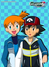 ash & misty hentai pkmn ash misty blue may