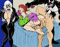 brock hentai albums userpics black cat eddie brock green goblin marvel mary jane watson norman osborn spider man venom wolverino felicia hardy spiderman users uploaded wallpapers mix size
