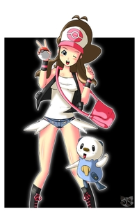pokemon & humans hentai cajuhy pictures user touko hilda pokemon