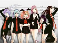 rosario + vampire hentai rosario vampire anime wallpaper http animewallpaperz animewallpaper hires plus