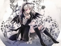 rozen maiden hentai data wallpaper rozenmaiden suigintou moon