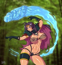 slayers hentai baf blush breasts cameltoe ice large naga serpent nipples pubic hair slayers smile uncensored