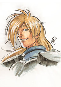 slayers hentai pre slayers portraits gourry gabriev marcelperez hfftr art