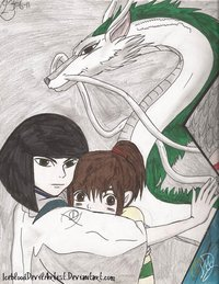 spirited away hentai pre always jrm morelikethis fanart manga traditional movies