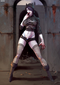 vampire hunter d hentai dmitrys zombie girl commission pictures user page all