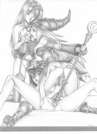 yugioh hentai auup unsorted hentai yugioh tea serenity black magician girl hot
