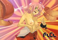 flcl hentai yamada haruko flying penises pictures user