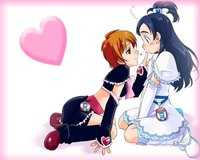 futari wa pretty cure hentai cure black white love anime futari pretty season